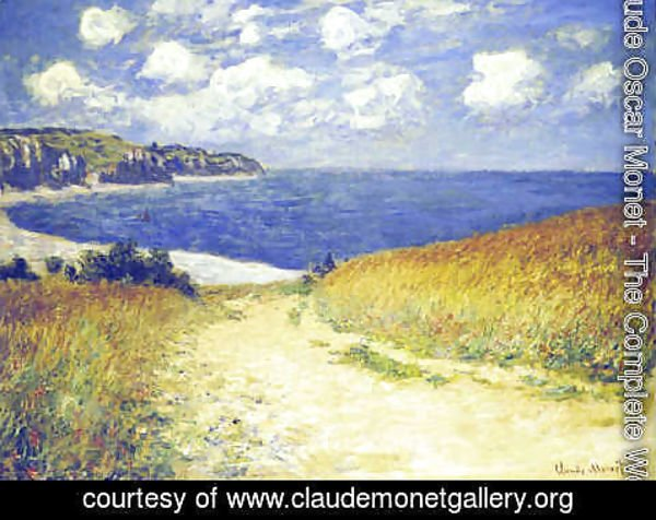 Claude Oscar Monet - Alley near Pourville