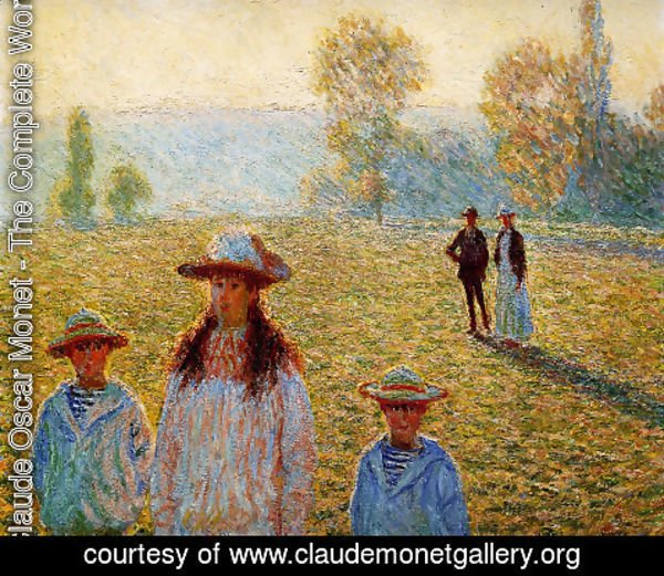 Claude Oscar Monet - Landscape at Giverny 2