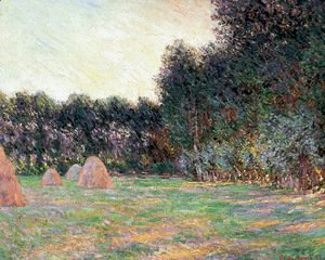 Claude Oscar Monet - Meadow with Haystacks near Giverny