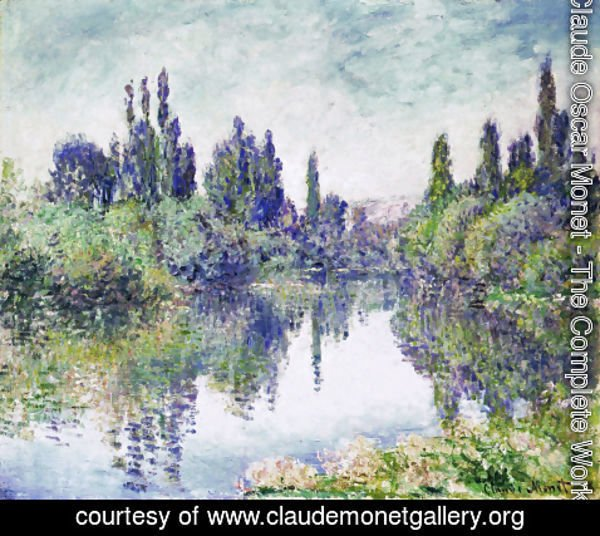 Claude Oscar Monet - Morning on the Seine, near Vetheuil