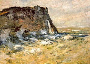 Claude Oscar Monet - Port d'Aval