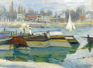 Claude Oscar Monet - The Seine at Asnieres 2