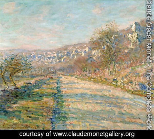 Claude Oscar Monet - Road of La Roche-Guyon