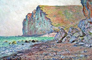 Claude Oscar Monet - Cliffs of Les Petites-Dalles 2