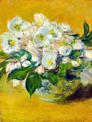 Claude Oscar Monet - Christmas Roses