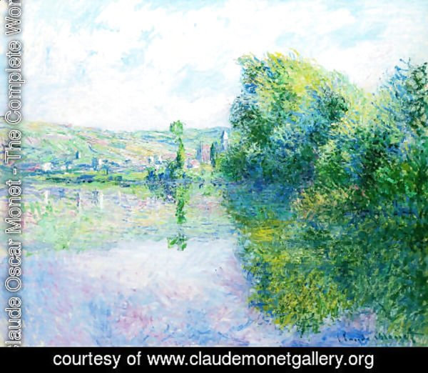 Claude Oscar Monet - The Siene at Vetheuil