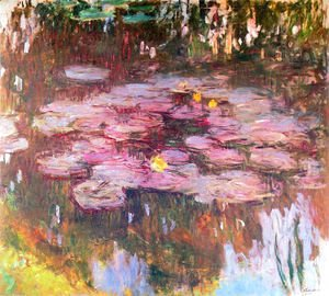 Claude Oscar Monet - Water Lilies 50