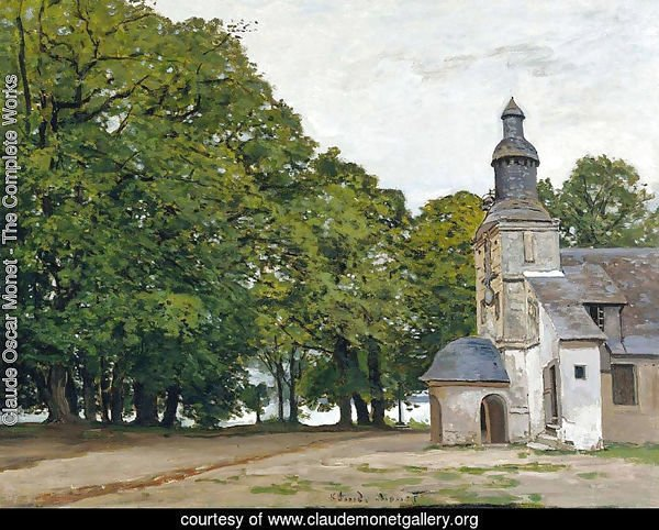 The Chapel Notre-Dame de Grace at Honfleur