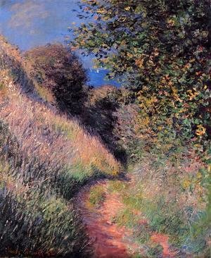 Claude Oscar Monet - Path at Pourville 2