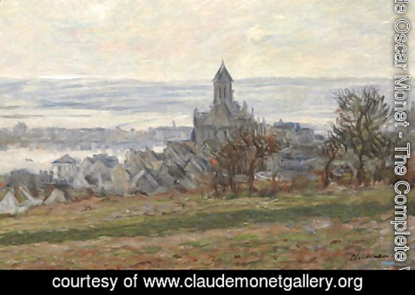 Claude Oscar Monet - The Church of Vetheuil