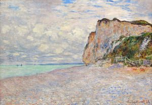 Claude Oscar Monet - Cliffs near Dieppe 2