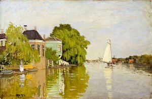 Claude Oscar Monet - Houses on the Achterzaan