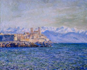 Claude Oscar Monet - The Old Fort at Antibes