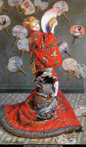 Japan's (Camille Monet in Japanese Costume)