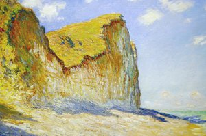 Claude Oscar Monet - Cliffs near Pourville