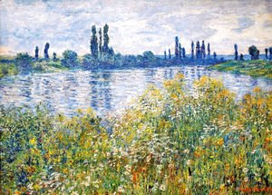 Flowers on the Banks of Seine near Vetheuil