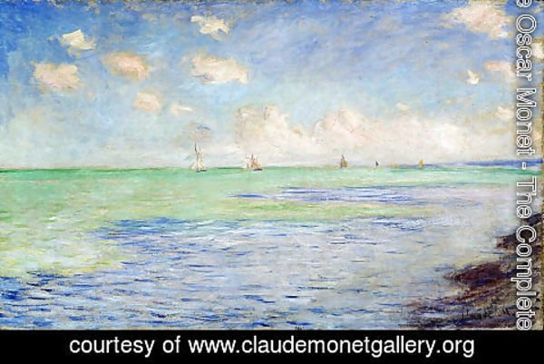 Claude Oscar Monet - The Sea at Pourville