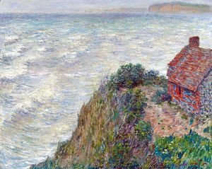 Claude Oscar Monet - Fisherman's House in Petit-Ailly