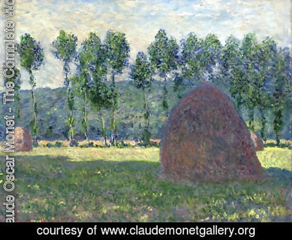 Claude Oscar Monet - Haystack at Giverny 2