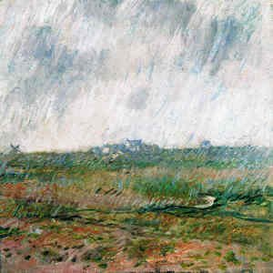 Claude Oscar Monet - Rain in Belle-Ile