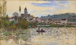 Claude Oscar Monet - The Seine at Vetheuil 3