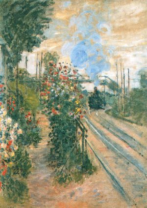 Claude Oscar Monet - Arriving at Montegeron