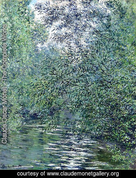 Claude Oscar Monet - The Willows on the River