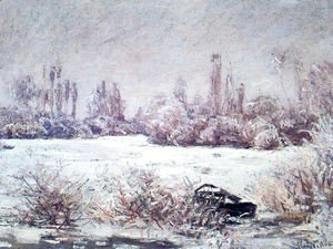 Claude Oscar Monet - The Frost