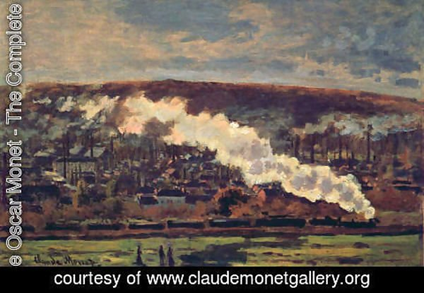 Claude Oscar Monet - The Train