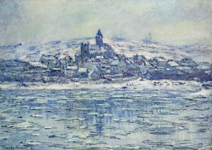 Claude Oscar Monet - Vetheuil, Ice Floes
