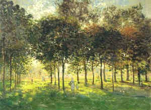 The Promenade at Argenteuil, Soleil Couchant