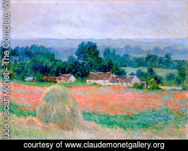 Claude Oscar Monet - Haystack at Giverny 3