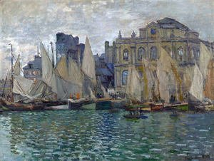 Claude Oscar Monet - View of Le Havre