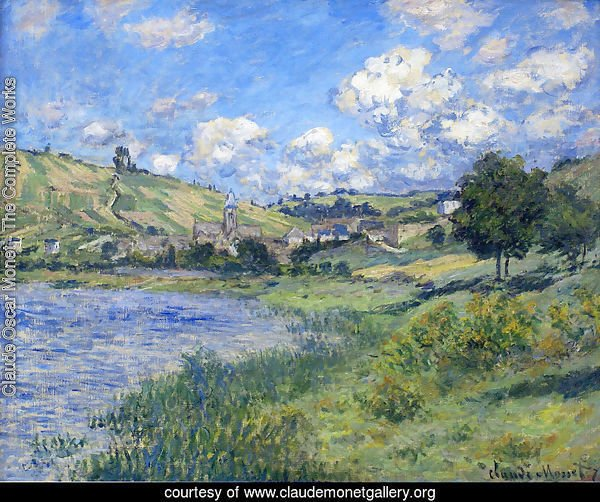 Vetheuil, Paysage