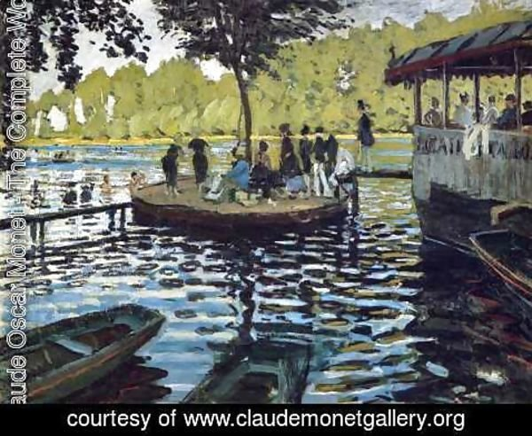 Claude Oscar Monet - The Grenouillere