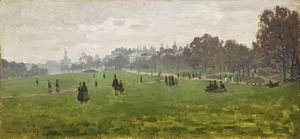 Claude Oscar Monet - Green Park in London
