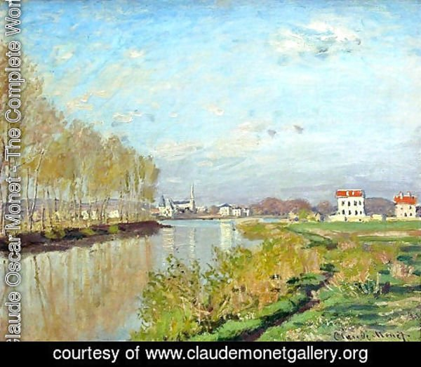 Claude Oscar Monet - Argenteuil, The Seine