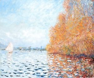 Claude Oscar Monet - The Siene at Argentuil 2