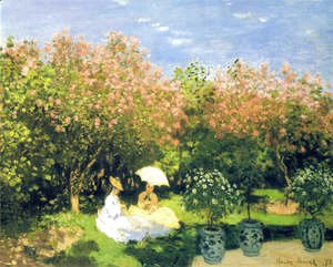 Claude Oscar Monet - The Garden