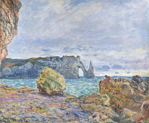Etretat, the Beach and the Porte d'Aval