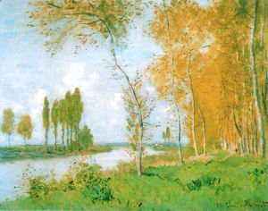 Claude Oscar Monet - The Spring in Argentuil