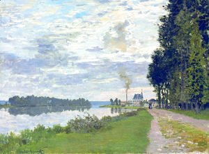 Claude Oscar Monet - The Promenade at Argenteuil 02