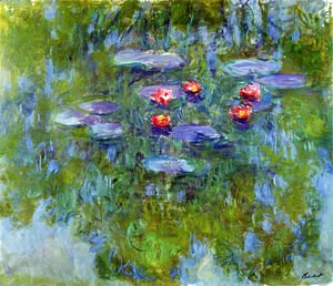 Claude Oscar Monet - Water Lilies 56