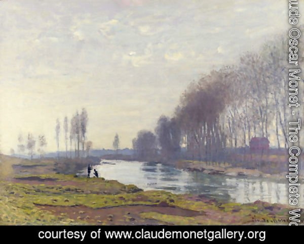 Claude Oscar Monet - The Small Arm of the Seine at Argenteuil 2