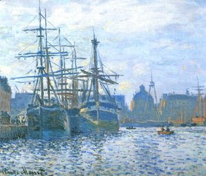 Claude Oscar Monet - The Havre, the trade bassin