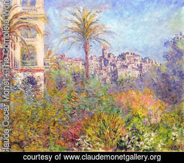 Claude Oscar Monet - Villas at Bordighera 03