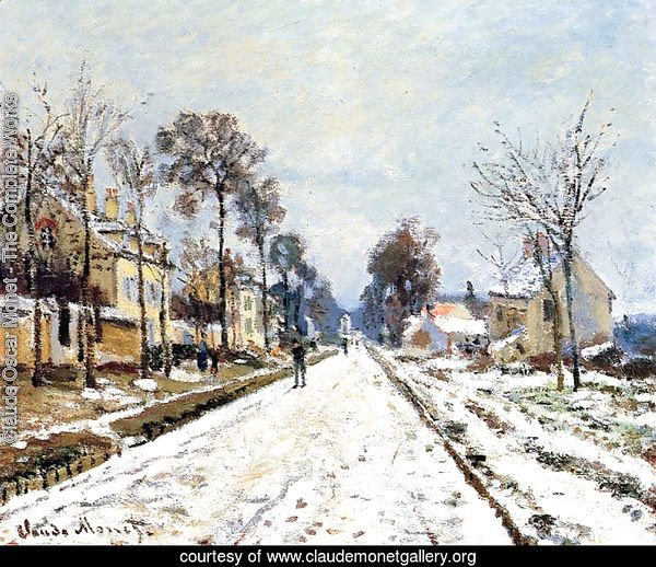 Snow Effect, The Road to Louveciennes