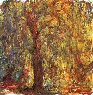 Claude Oscar Monet - Weeping Willow 3