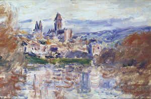 Claude Oscar Monet - The Village of Vetheuil