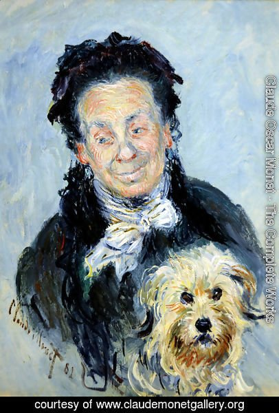Claude Oscar Monet - Portrait of Eugenie Graff (Madame Paul)
